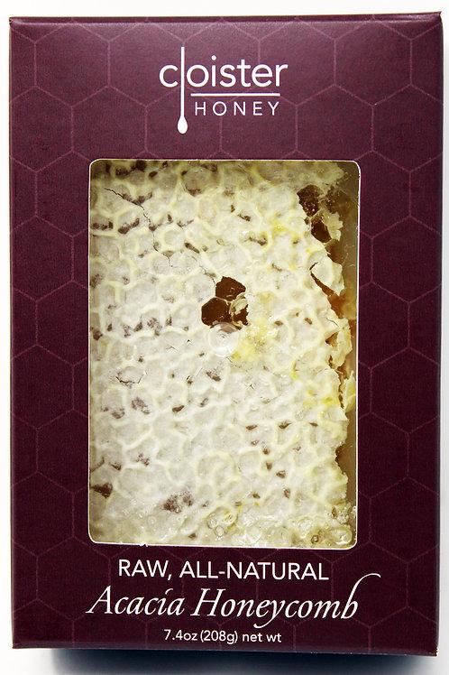 CH008 7.4oz All Natural Acacia Honeycomb Cloister Honey 6/case$12.00 each