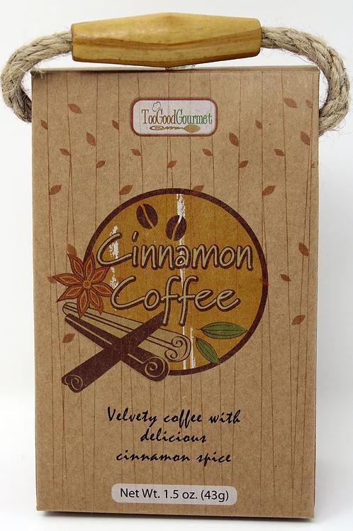3210 1.5oz Cinnamon Coffee Wood Land Design, $3.99 each, $23.94/Case