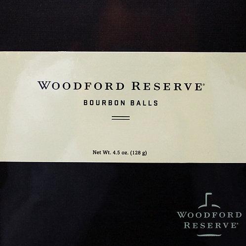 #RH003 4.5oz Woodford Reserve Bourbon Balls 9 piece 6/case $10.59 NEW