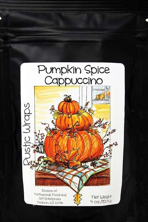 #RW3074 4oz Pumpkin Spice Cappuccino 6/Case $5.00@ $30/case
