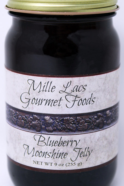 ML003 9oz Blueberry Moonshine Jelly Mille Lacs label 6/Case $4.45 each $26.70/Ca