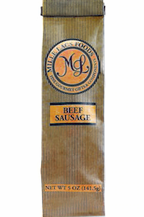 #ML43312 5oz Mille Lacs Original All Beef sausage in Bag