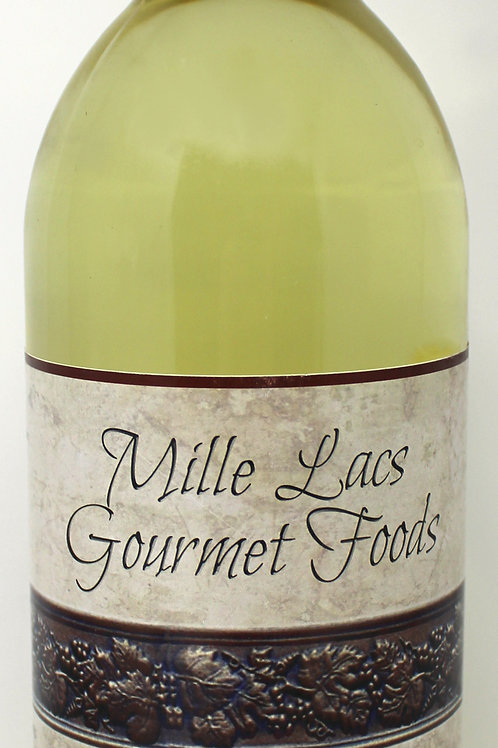 ML101 25.4oz Mille Lacs White Muscadine Juice All Natural Mille Lacs labeled 6/C