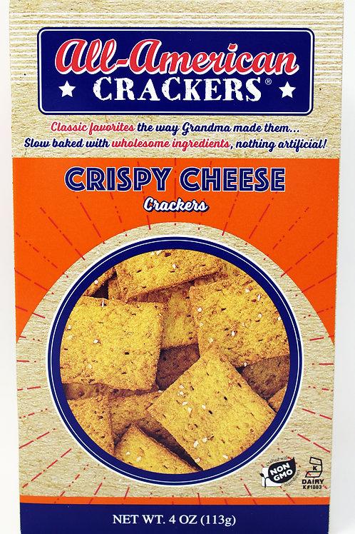 #8404 - NEW 4oz Partner's Crispy Cheese Crackers $1.87@ case 6