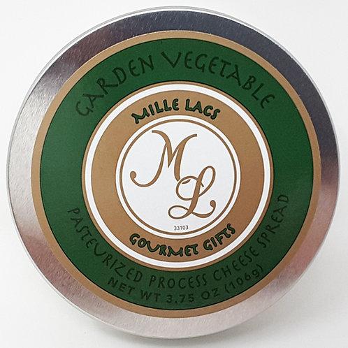 #ML43103 3.75oz Garden Vegetable Cheese Tin 48/cs $2.55@