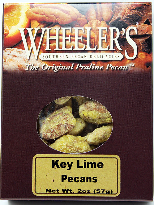 NEW #2612 2oz Key Lime Pecans 18 case $3.45@
