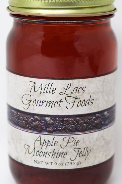 NEW #ML002 9oz Apple Pie Moonshine Jelly cs 6
