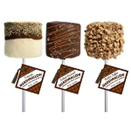 NEW #MC008 1.5oz Giant Chocolate Covered Marshmallows cs 12 - 3 flavors