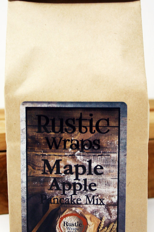 #WC5012Rustic Wraps Maple Apple Pancake Mix case 6 only $3.99@