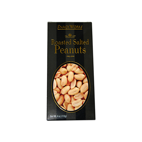 6156 SnackWorks Roasted Salted Peanuts 4oz 24/Case $2.04 each  $48.96/Case Best