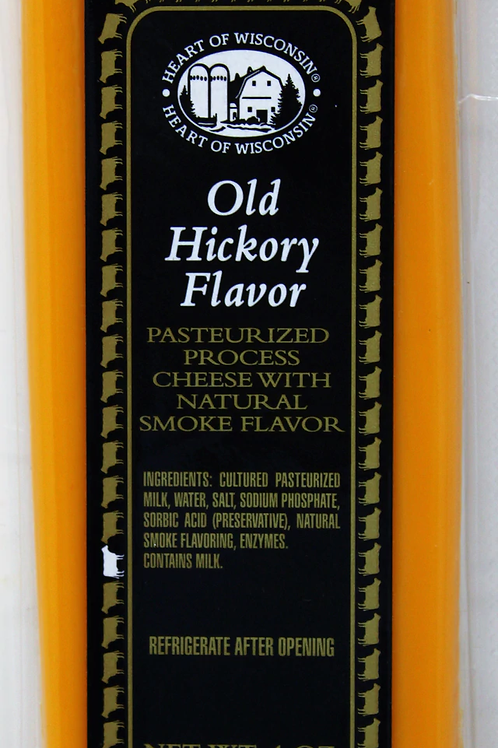ML43222 4oz Mille Lacs Heart of Wisconsin Old Hickory Flavor Bar Kosher 36/case