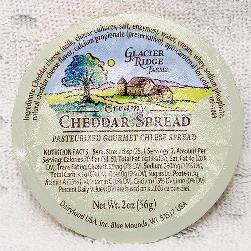 #1140 - 2oz Creamy Cheddar Spread Cup - $.99@ case 48 = $47.52
