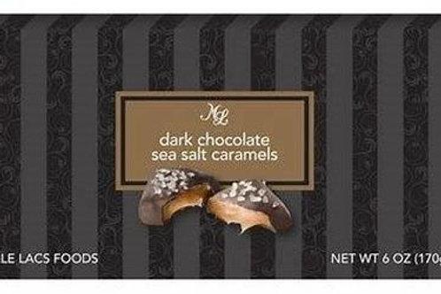 #ML48642 6oz  Chocolate Sea Salt Caramels 24/cs $2.50@