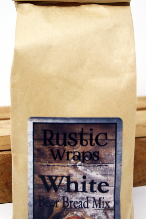 #WC5002 Rustic Wraps White Beer Bread Mix $3.99@ case 6