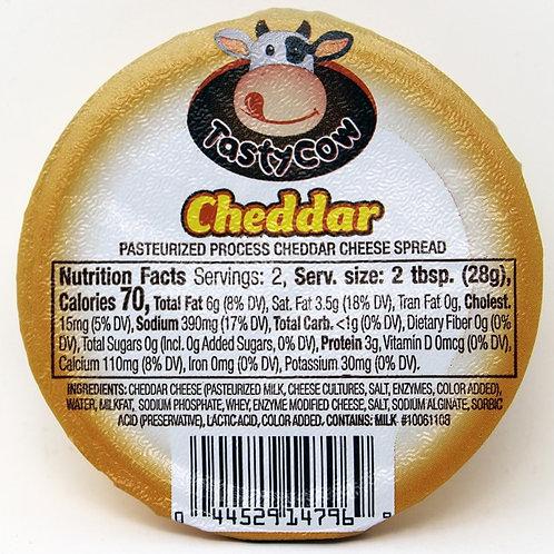 2oz Cheddar Tasty Cow Cheese Spread 48/Case $1.00 each $48.00/Case Shelf Stable