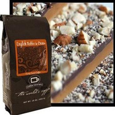 #3064 - 1.75oz. English Toffee & Cream Coffee KOSHER $1.99@ 12/Case