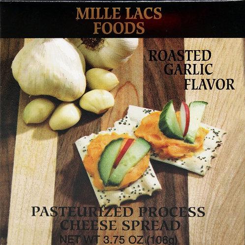 #ML43146 3.75oz Roasted Garlic Boxed Cheese Spread 48/cs $1.40 each $67.20/cs