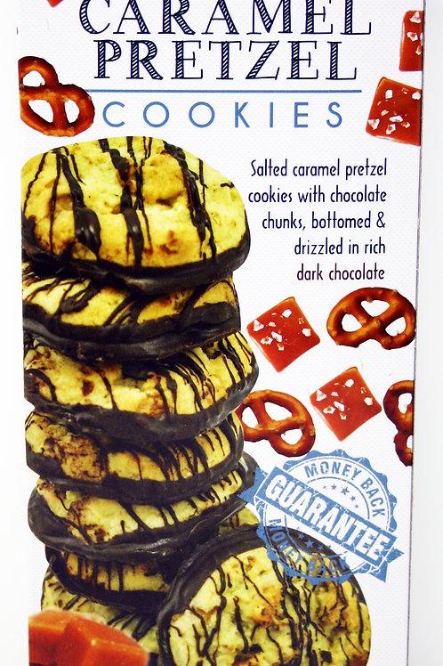 #8704 6oz Salted Caramel Pretzel Cookies 12/Case $4.00 each, $48.00/Case