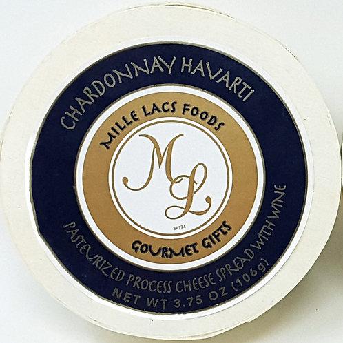 ML43202 3.75oz Mille Lacs Chardonnay Wine Cheese Hoop 48/case $2.45 each
