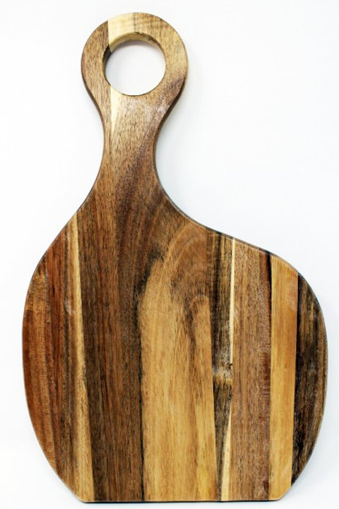 #50089 Mille Lacs Acacia Wood Cutting Board 6/case $7.50each