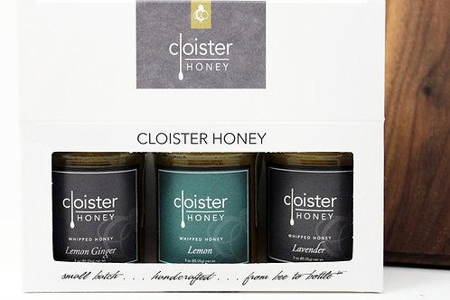 Lavender Whipped Honey Gift 3/case $19.34 @ Cloister Honey $58.02