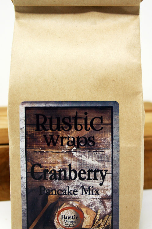 #WC5014 Rustic Wraps Cranberry Pancake Mix @3.99@ case 6