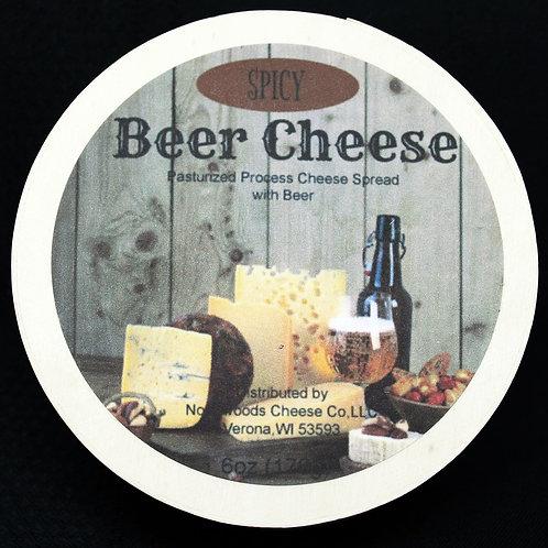 1141 6oz Spicy Beer Cheese Spread Hoop 24/Case $3.55 each $85.20/Case
