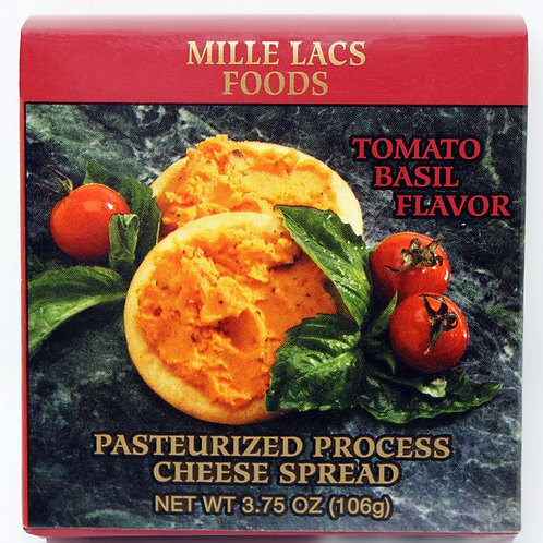 #ML43304 3.75oz Tomato Basil Boxed Cheese Spread 48/cs $1.40@ $67.20/cs