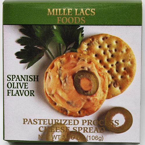 #ML43300 3.75oz Spanish Olive Cheese Spread