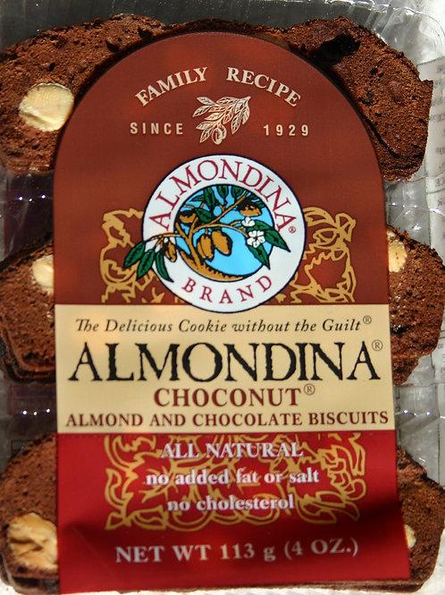 #8501 4oz Almondina Coconut Almond Buscuits $3.25@s case 12