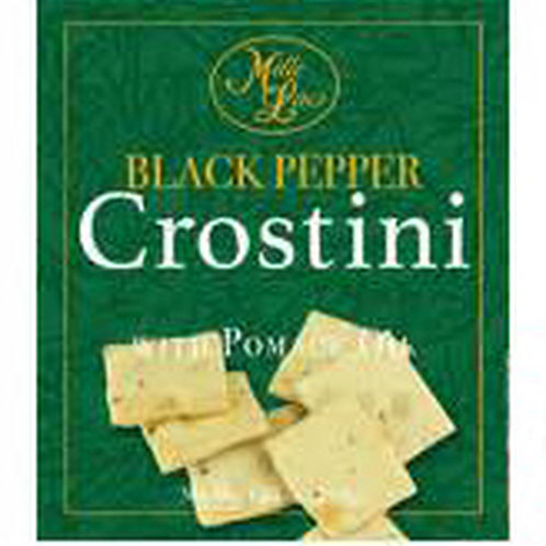 #ML43336 1.05oz Black Pepper Crostini Crackers 24/Case $1.00@$24.00/Case