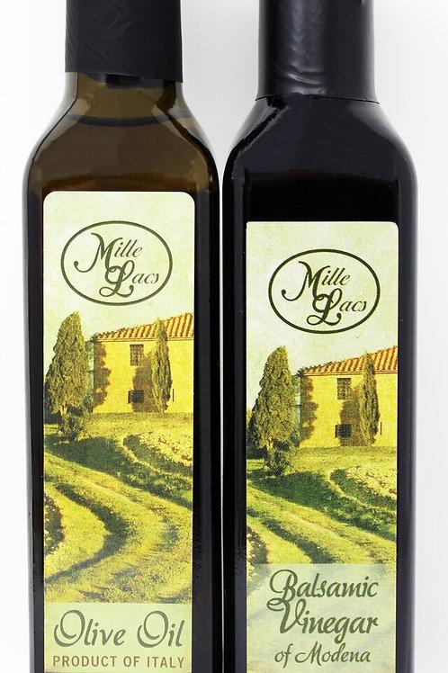 #ML43165 Mille Lacs Olive Oil and Vinegar Assortment 8.45oz@ 24/Case