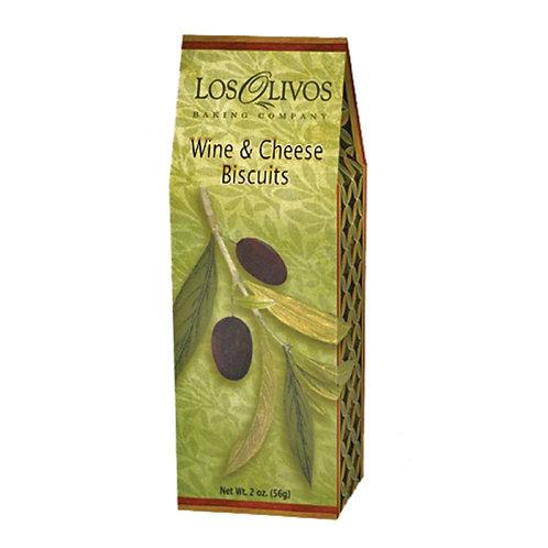 #8132 2oz Los Olivos Wine & Cheese Biscuits $1.85@ case 24