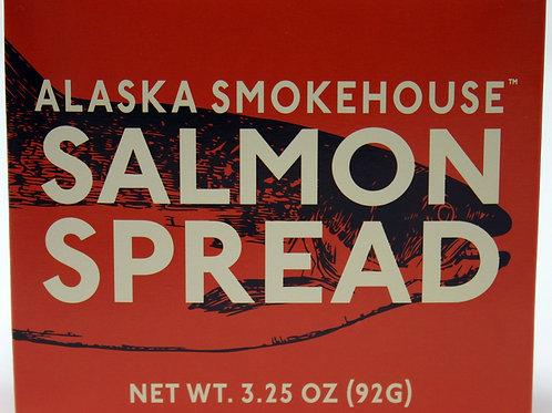 6017 3.25oz Salmon Spread Alaska Smokehouse New 12/case $4.15 each, $49.80/Case