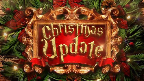 *Getting ready for Holiday season updating your website!
