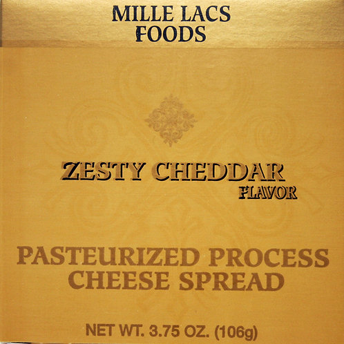 #ML43268 3.75oz Classic Zesty Cheddar Boxed Cheese Spread 48/cs $1.40 each  $67.