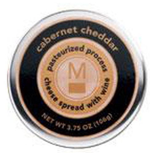 #ML43159 3.75oz Cabernet Cheddar Cheese Tin 24/Case $2.45 each, $58.80/Case