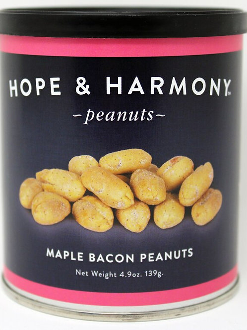 NEW #7700 4.9oz Maple Bacon Peanuts 24/case $3.75 each $90.00/Cas