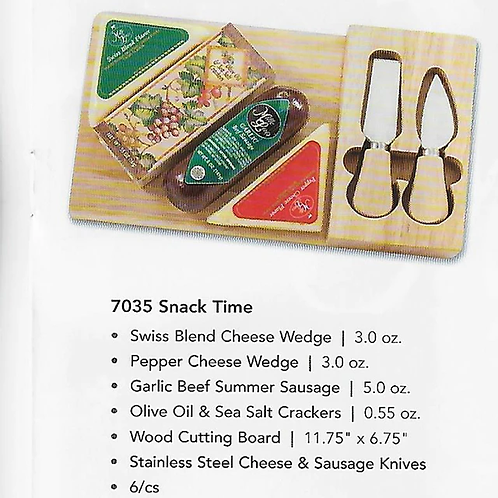 ML7035 Snack Time Gift 6/case $12.00 each $72.00/case