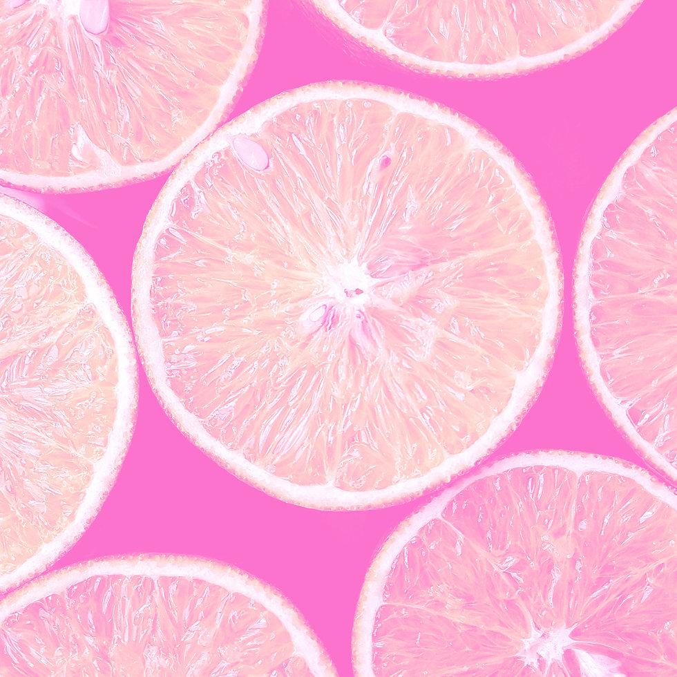 rosa Zitronen