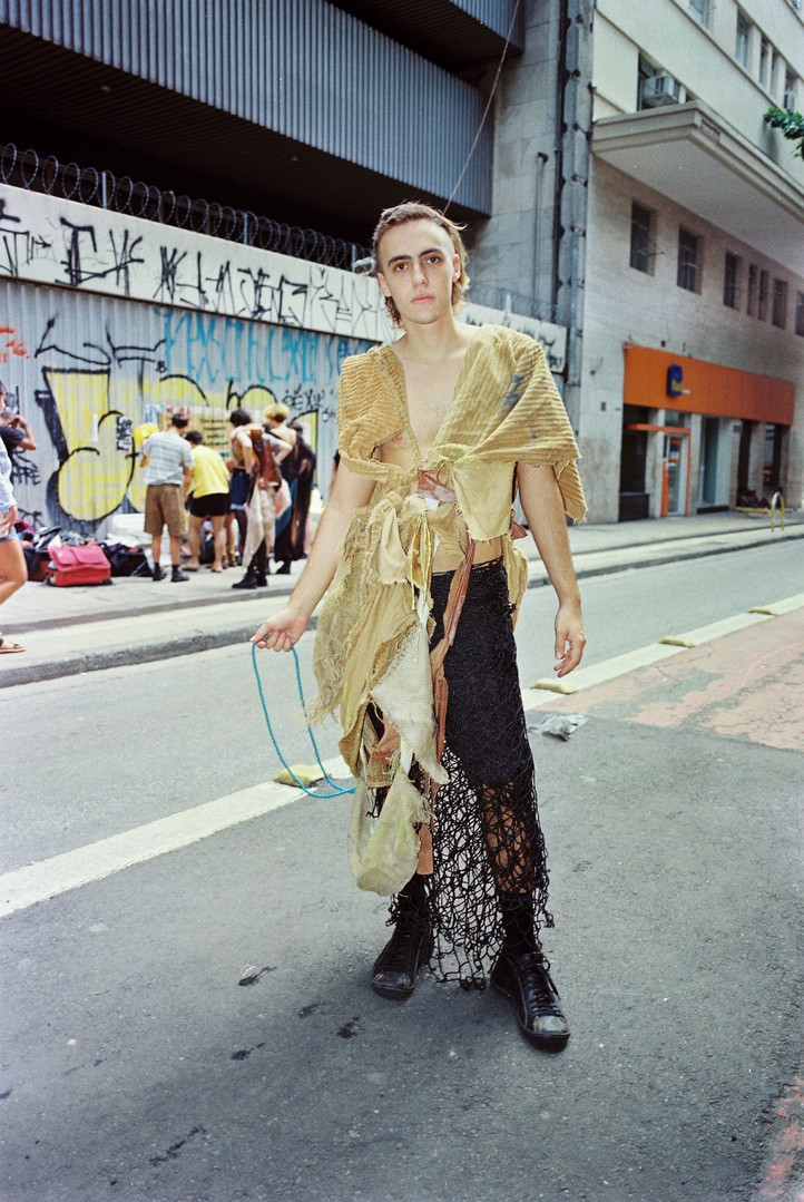 André Barion veste Barion  foto: Matheus Chiaratti