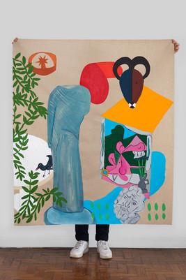 Sketchbook VII Hera Fang Cabeça de Picasso, 2019