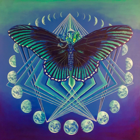 Matter as crystalizes Energy, by Michelle Anderst
