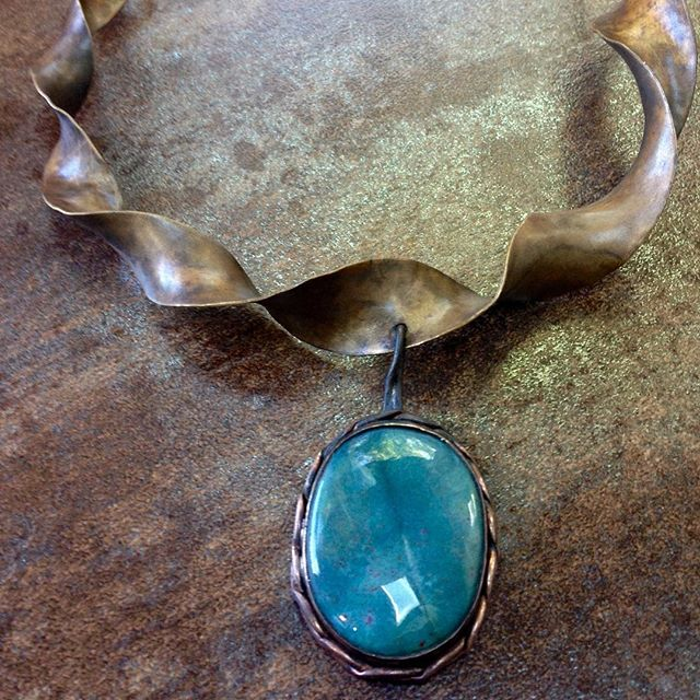 Blue Agate Copper