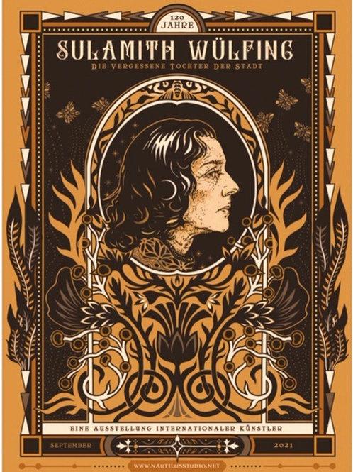 Sulamith Wülfing Poster Druck, limitierte Auflage von 50