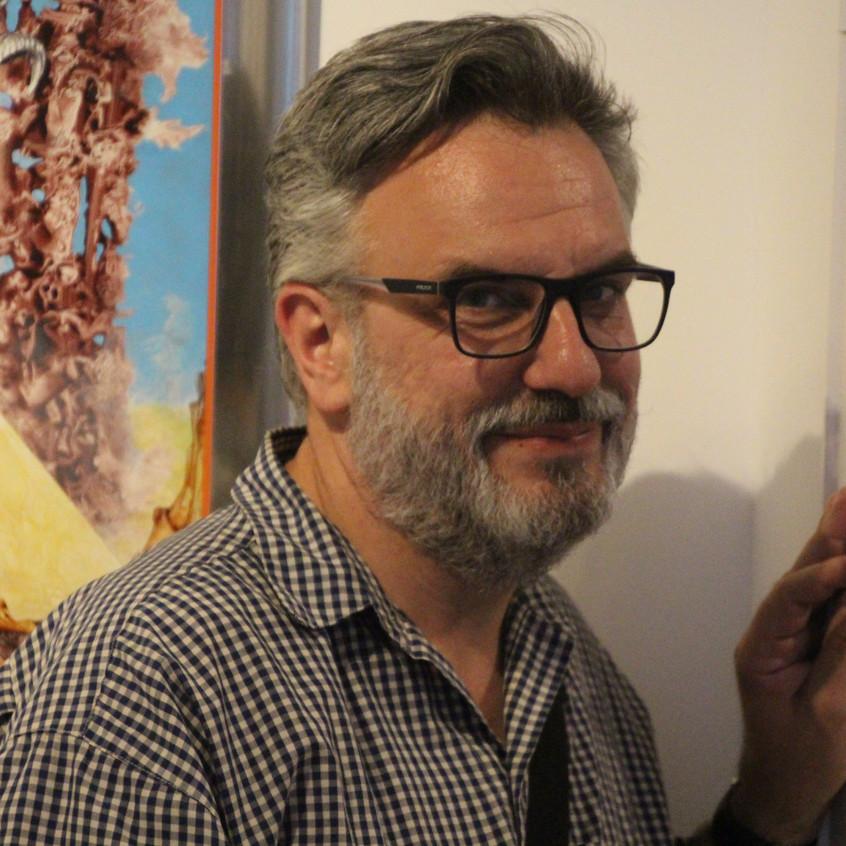 Oliver Buchta smiling