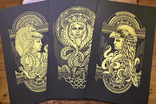 Triptych by K. Niemiro