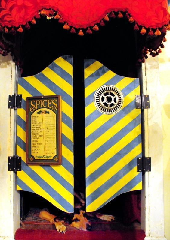 the door to the circus