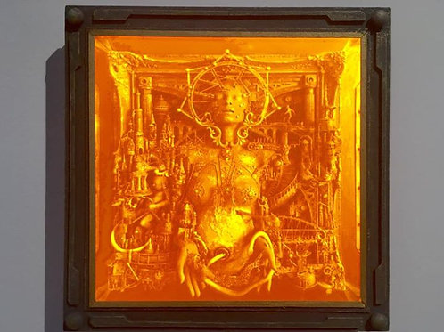 Mater-Dei Lithophane Light Box