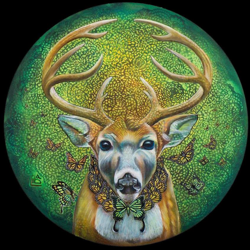 Sacred Deer by LW Stambollion